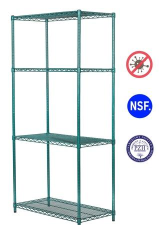 Regał noMICRO 4-półki (46x152x182cm)