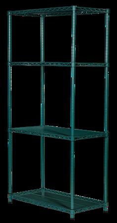 Regał noMICRO 4-półki (61x107x182cm)